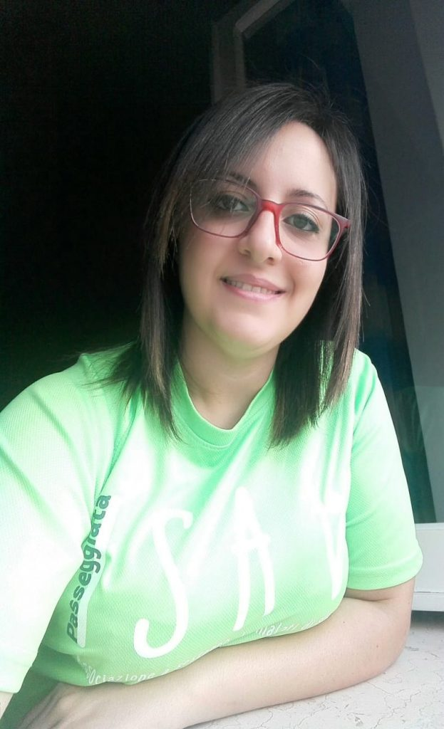Alessia D'Andrea volontaria Isav