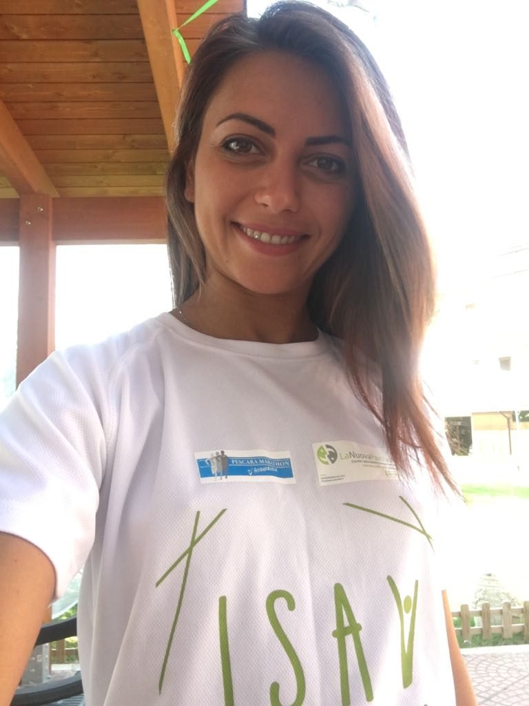Silvia Di Tillo volontaria Isav