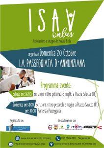 Locandina passeggiata D'annunziana 3° edizione Pescara