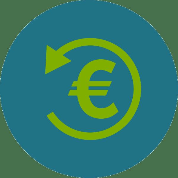 Icona simbolo euro