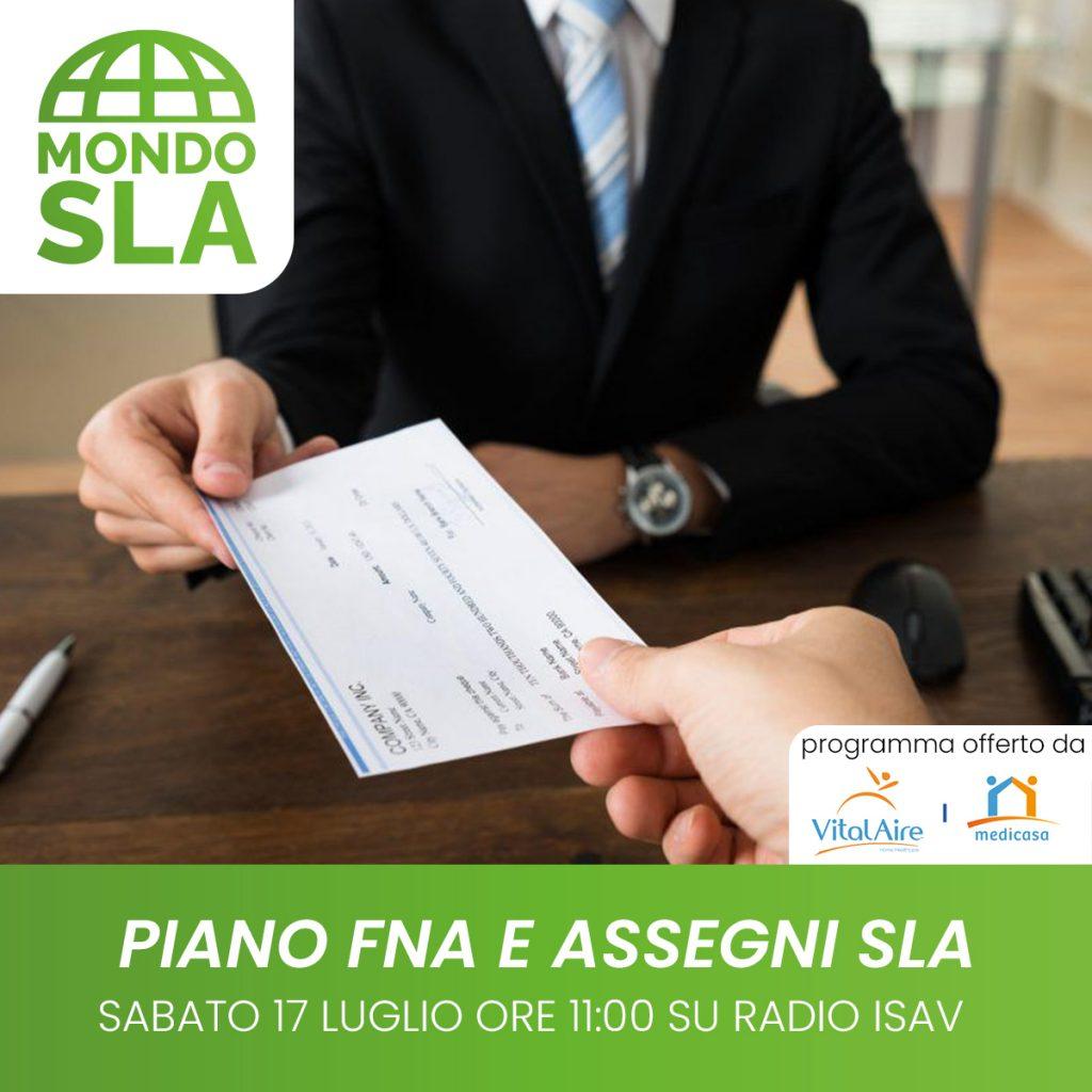 Mondo Sla - piano FNA e assegni Sla